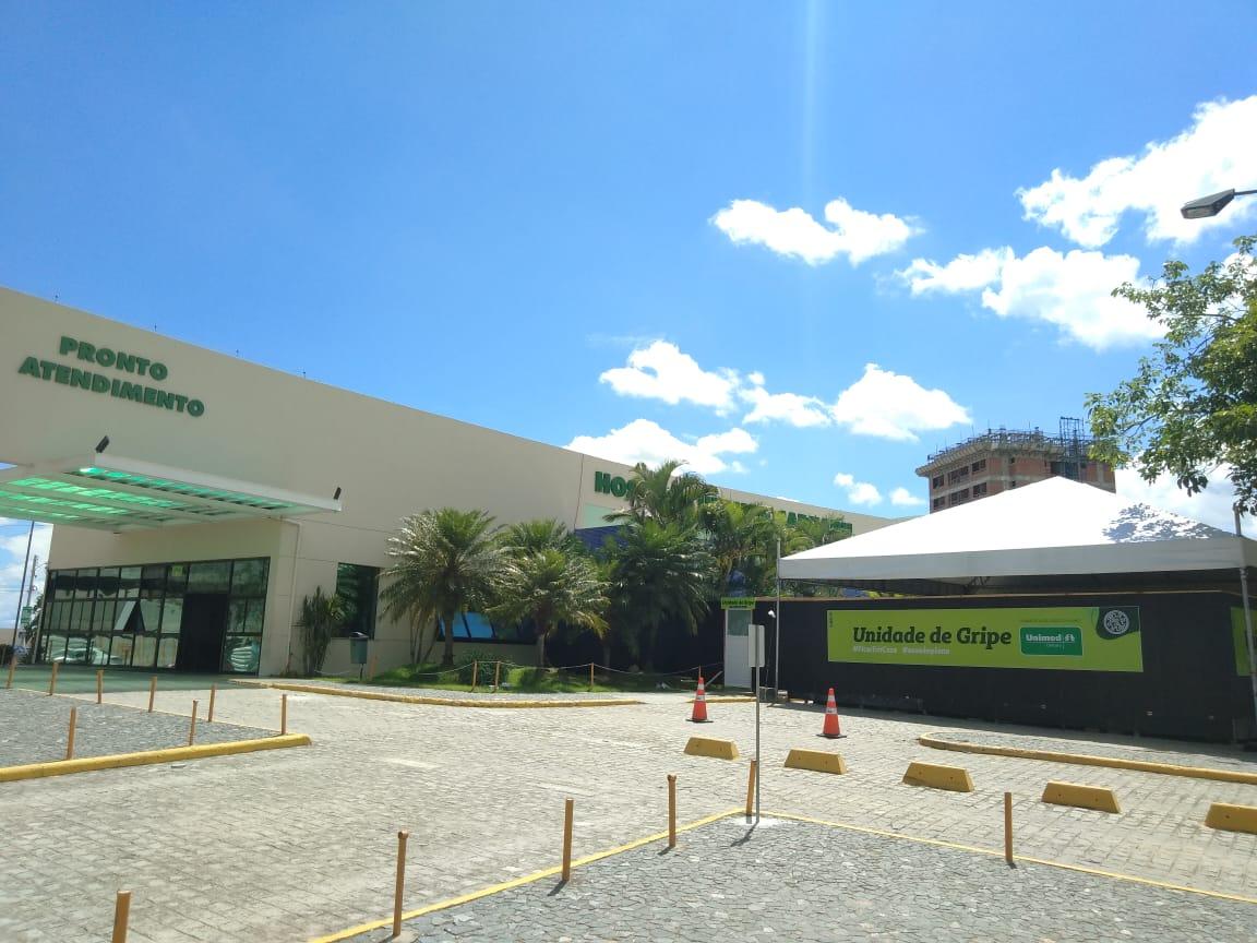 Hospital particular em Caruaru monta estrutura para atender pacientes com novo coronavírus