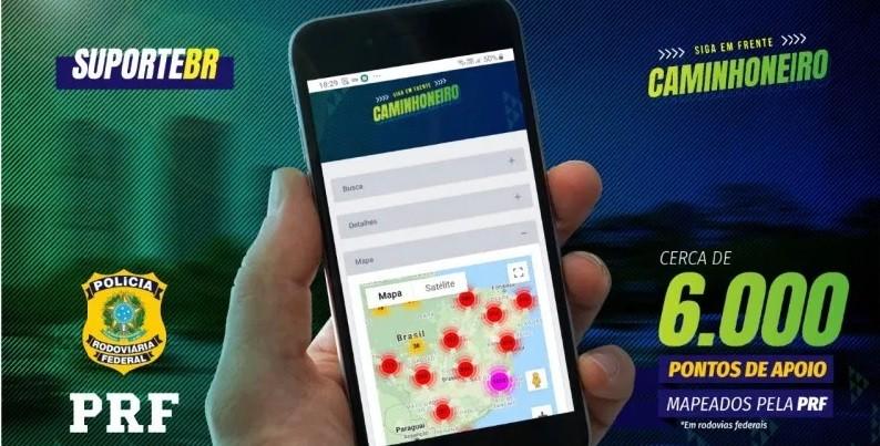 PRF mapeia 6 mil pontos de apoio a caminhoneiros e usuários das rodovias em todo o País